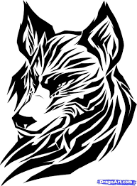 Amazing Easy Wolf Designs Sketches Tattoos Awesome Draw Wolf Tattoo