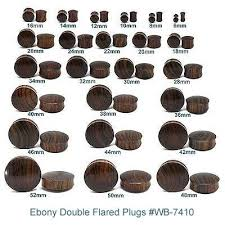 Plug Gauge Size Chart 17 Earring Plug Sizes How To Safely Stretch Your Ears With