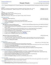 Fresher Resume Sample For Software Engineer Best Of Resume Samples Job Is Yours