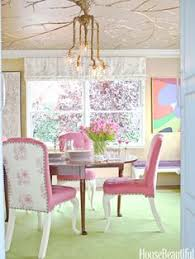 10 spring inspired es pink dining roomsdining room chairsdining