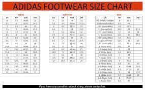 Adidas Shoes Size Chart India Adidas Shoe Size Chart Japan Www Bedowntowndaytona Com