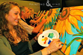 wine painting hilton del mar vino art skills learn