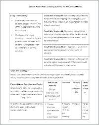 Day Action Plan Template School Development Format Improvement Deped ...