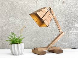 Purchase Unique Wood Desk Lamp For Your Study Room Warisan Lighting
