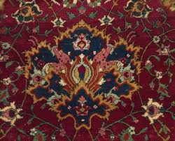 safavid period carpet detail shah abbasi motif