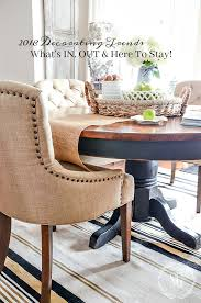 2018 decor trends what s in out and here to stay