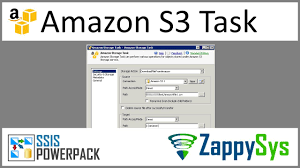 Ssis Amazon S3 Storage Task Upload Download Delete And