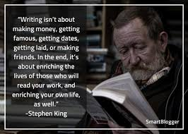 Stephen King Quotes On Love Unique Stephen King's 48 Tips For Becoming A Frighteningly Good Writer