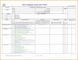 Document Audit Checklist Audit Check List Iso 90012015 Iso9001new 9001 Checklist Sample