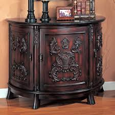 entry furniture cabinets. Accent Bombe Chest W/ Marble Top By Coaster Furniture In Chests And Cabinets. Bold Carvings This Beautiful Chest, Featuring Three Storage Entry Cabinets R