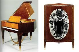 deco furniture designers. famous art deco furniture designers fascinating left emile jacques ruhlmann right piano cabinet