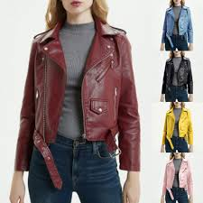 <b>Mens</b> PU <b>Faux Leather Jacket</b> Motorcycle Bomber Fashion Matte ...