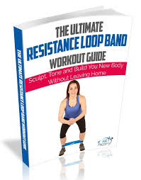 Stretch Band Loops Exercise Chart Ebook