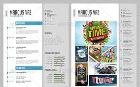 Resume Portfolio Template 45 Cv Resume Templates That Will Get You Hired  Pixel Curse Template