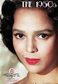 dorothy dandridge african american actress 1950s makeup