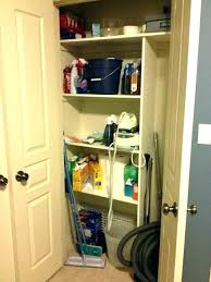 broom closet storage broom closet cabinet utility