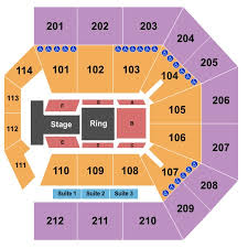 College Park Center Seating Chart College Park Center Tickets In Arlington Texas College Park