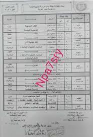 رغم الكورونا | رسمياً اعتماد جدول امتحانات الثانوية العامة 2020 وزارة  التربية والتعليم - نبأ حصري