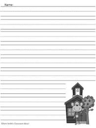 Curious George Free Printable Writing Paper   TWO FREEBIES  www FernSmithsClassroomIdeas com