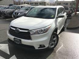 2016 Toyota Highlander Hybrid Limited For Sale