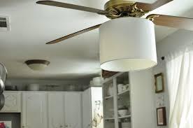 ceiling fan shades fabric ideas