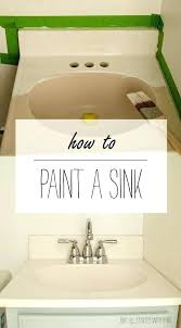can you paint a bathroom sink how to quick easy and inexpensive i spray can you paint a bathroom sink how to quick easy and inexpensive i spray