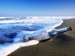 letter in a bottle message in a bottle