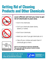 chemical information sheet getting rid of cleaning products and other chemicals natural