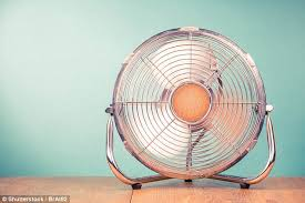 hot air should i be worried about the amount of money my electric fan is