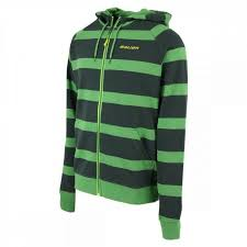 Bauer Striped Full Zip Hoody Senior Jacket