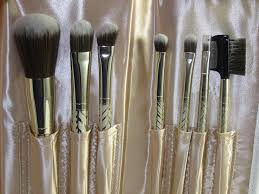 sephora sparkle shine antibacterial brush set 9