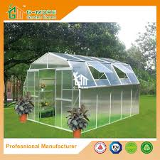 6mm pc gh 10 x8 barn l series polycarbonate greenhouse