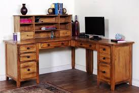 office desk cheap. Image Of: Rustic L Shaped Office Desk With Hutch Cheap