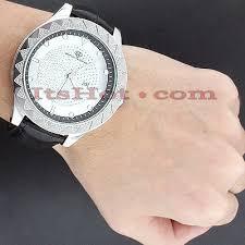 super techno watches mens diamond watch 0 12ct