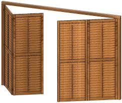 Shutters Klapp Und Schiebeläden Aus Holz Für Den Innenliegenden