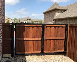 wood fence double gate. Call A Better Fence Company Today For Your Free Privacy Wood Estimate! Double Gate
