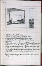 small ledger books edward hopper artists ledger book iii p 49 office in a small city