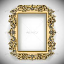 carved wooden frame by neyro2008 graphicriver