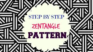 Tangle Patterns Unique How To Draw Zentangle Patterns Step By Step Tutorial YouTube