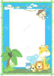 baby animal clipart borders. Contemporary Animal Baby Animal Clipart Borders  Photo22 Throughout Animal Clipart Borders