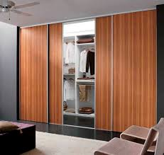 fixed wardrobe with sliding