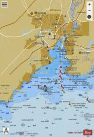 New Haven Harbor Marine Chart Us12371_p2183 Nautical