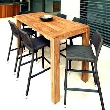 tall outdoor bistro table tall outdoor furniture high top patio table sets patio furniture pub table