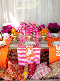 Indian Inspired Decorating Indian Table Decoration Ideas
