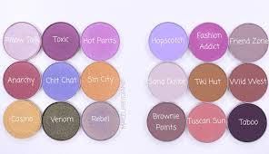 new makeup geek spring eyeshadows 2016 swatches
