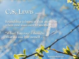 Cs Lewis Quote About Friendship Classy C S Lewis Friendship Quotes Inspiration Boost