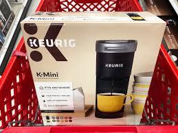 Want to buy a target keurig k50 coffee maker? Keurig K Mini Coffee Maker Only 56 99 At Target The Krazy Coupon Lady
