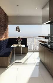Sofá em l em fibra sintetica ideal para áreas externas. 100 Varandas Gourmet Decoradas Em Casas E Apartamentos Fotos