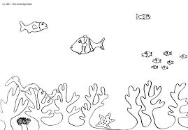 Coloriage Coquillages Marins Pour Coloriage Animaux De La Mer