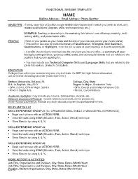 Resume Format Examples – Noxdefense.com
